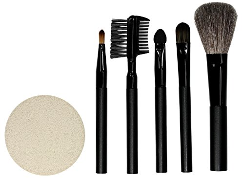 QVS Five Piece Kit de pinceaux à maquillage