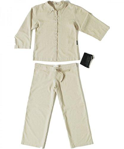 Insect Shield Travellers Tree sand, Da.-Pyjama (Baumwolle-pyjama Herren-Ägyptische)