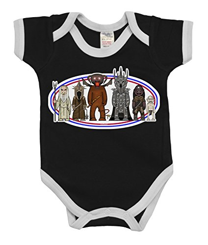 VIPwees Baby Kleidung Babygrow Villains Of The Fantasy Rings Boys & Girls Baby (Frodo Outfit)