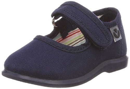Victoria Mercedes Velcro Lona, Zapatillas Unisex bebé, Azul Marino, 20 EU