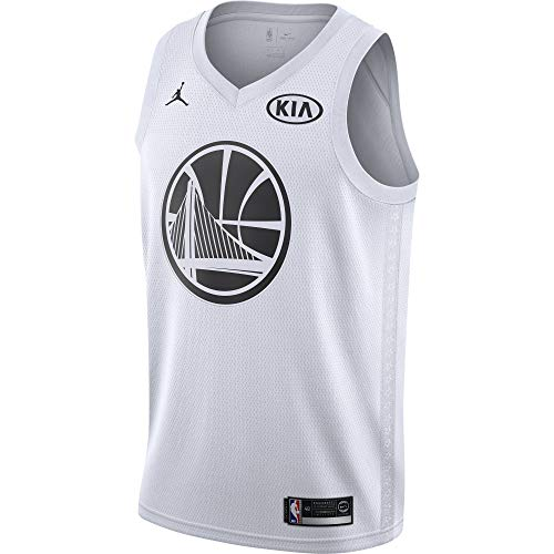b2cac2f7 Nike NBA Golden State Warriors Stephen Curry 30 SC30 All Star Game 2018 Los  Angeles Jersey