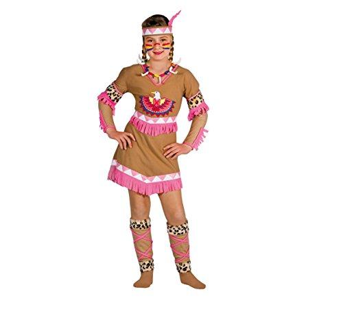 Ciao 10799 - indiana raggio di luna costume bambina con make-up, 8-10 anni