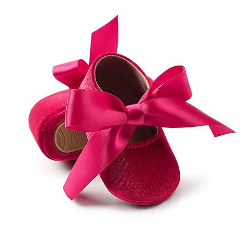 839ab3d214 BrillaBenny Mocassini Scarpe Ballerine NEONATA Velluto/Scarpine Baby Shoes  Battesimo Wedding Festa Party Natale Nascita