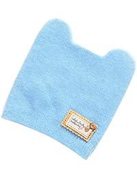 K-youth Gorras Bebé Recién Nacido Sombrero de Punto Niña Sombreros Bebé Invierno Bebé Caliente Lindo Beanie Bebe Niña Primavera Otoño…