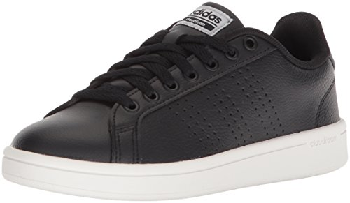 the latest 3f0dc 41143 adidas Performance Womens CF Advantage Cl Sneaker, BlackBlackSilver  Metallic, 8
