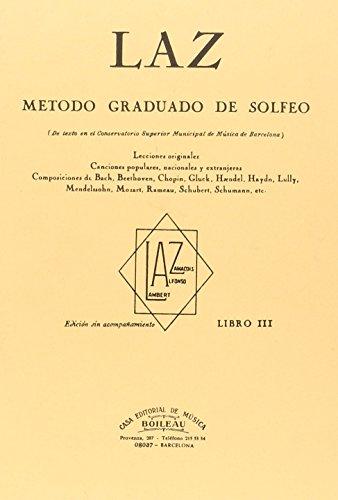 Laz - Libro III: Método graduado de Solfeo