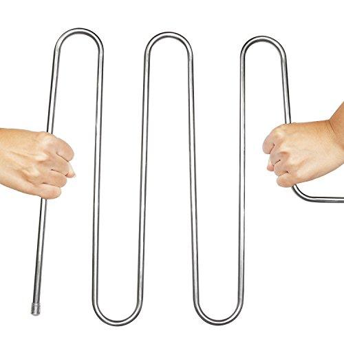 _ XIAO MO GU acciaio inossidabile S-Type multiuso Magia Pantaloni armadio Grucce appendiabiti salvaspazio porta per appendere Jeans, Pantaloni, Sciarpa, Cravatta, asciugamani, (2 pack) confronta il prezzo