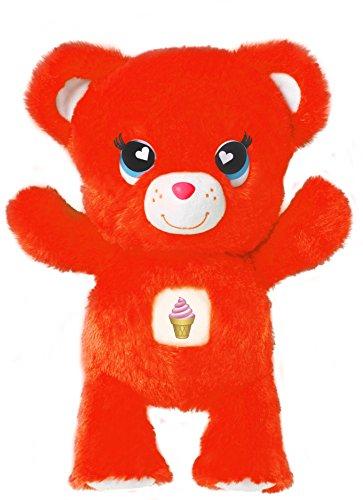 "Emoji Bears Plush, Orange, 7"""