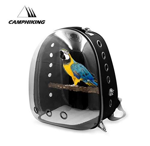 Porta-uccelli-Gabbia-Da-Viaggio-Per-Animali-Da-Trasporto-Zaino-Borsa-Per-Animali-Da-Compagnia-Trasparente-Scatola-Per-Capsule-Trasparente-Per-Pappagalli-E-Piccoli-Animali-Traspirante-13-X-11-X-17in