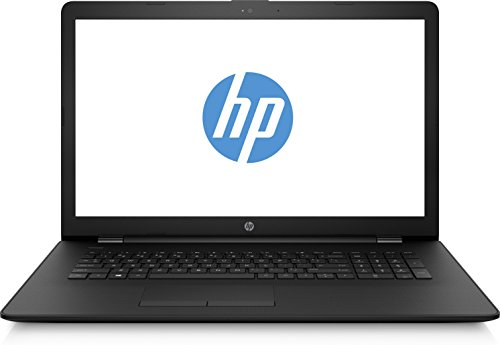 HP 17-ak062ng Notebook 43,9 cm (17,3 Zoll) Blendfreies HD+-SVA-Display Notebook (AMD Dual-Core A6-9220, 4 GB RAM, 1 TB HDD, AMD Radeon Grafik, FreeDOS 2.0) schwarz