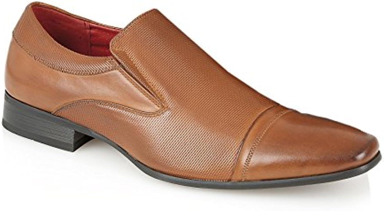 Gucinari - Zapatos de cordones para hombre