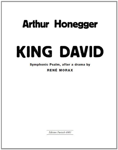 king-david-vocal-score