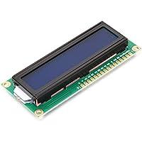 Plat Firm Retroiluminación azul del módulo de pantalla LCD de 1pc 1602 caracteres