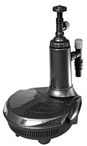 Hozelock Tricoflex Voll integrierten Geräte mit Pumpe, Filter und UVC, Fontäne- und Wasserfallpumpe für Teiche bis 7500 L, schwarz, 27,6 x 31 x 35,5 cm, 1766 1240 (Easy Filter Clear)