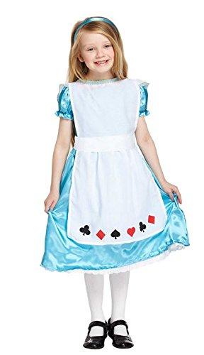 (Mädchen Kinder Alice im Wunderland Buch Tag Fancy Kleid verkleiden Kostüm aller Altersstufen Vex u00177/178/179)