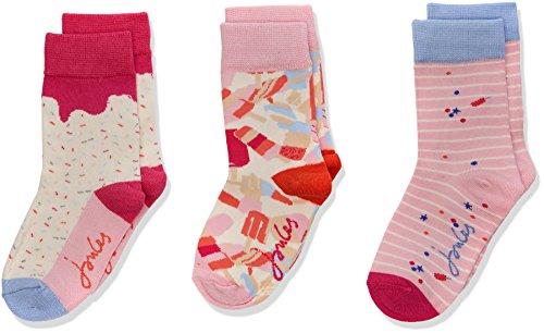 Joules Girl's Brilliant Bamboo Socks pack of 3