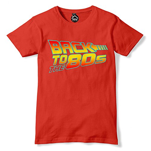 Back To The 80s Future Parody T-shirt for Men or Women - 5 Colours