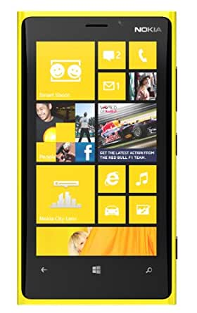 Nokia Lumia 920 SIM-Free Smartphone - Yellow (Windows, 32GB) (discontinued by manufacturer)