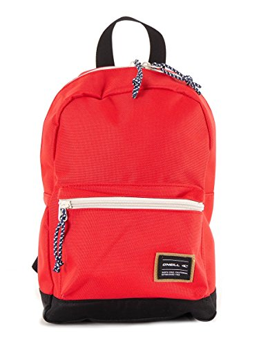 O 'Neill Backpack Mochila Coast Line Mini Rojo Patrón Funda 7L)