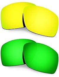 Hkuco Plus Mens Replacement Lenses For Oakley Big Taco - 2 pair