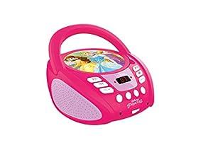 Lexibook RCD108DP-  Radio con lector de CD Princesas Disney