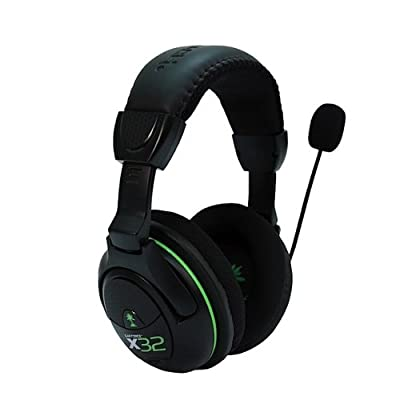 Turtle Beach Ear Force X32 Wireless Amplified Stereo Sound Gaming Headset for Xbox 360 by Turtle Beach
