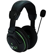 Turtle Beach Ear Force X32 - Auriculares con micrófono (PC/Juegos, Binaurale, Diadema, Negro, RF inalámbrico, Inalámbrico)