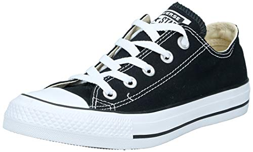 CONVERSE Chuck Taylor All Star Seasonal Ox, Unisex-Erwachsene Sneakers, Schwarz (Black/White), 36  EU