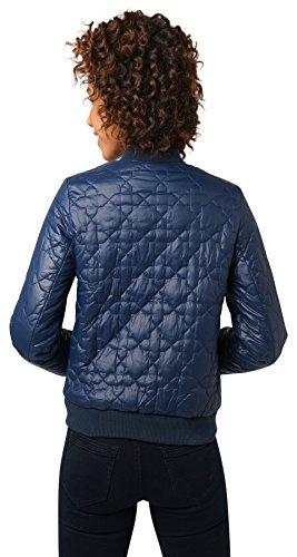 Tom Tailor Denim für Frauen Jacket wattierte Bomberjacke real navy blue
