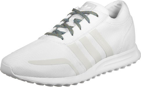 Adidas Mens Los Angeles Low-top, Grigio Bianco Grigio