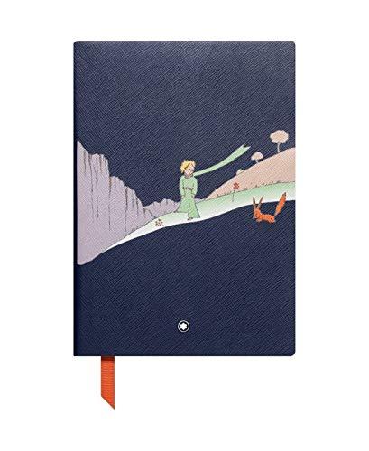 Montblanc Le Petit Prince 117869 – Cuaderno #146 Fine Stationery – Diario de piel con páginas de líneas – Bloc para apuntes A5 – 150 x 210 mm