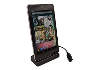 Google Nexus 7 Tablet - USB 'Single' Desktop Stand Dock Charging Sync Station - iZKA® One Stop Shop For All Your Accessory Needs