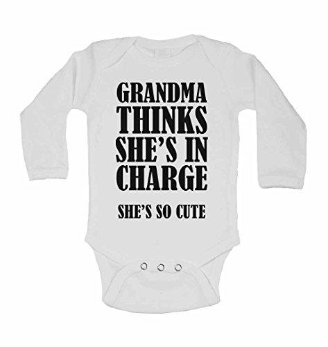 grandma-pense-elle-est-en-charge-shes-so-cute-neuf-personnalise-bebe-a-manches-longues-gilets-bodies