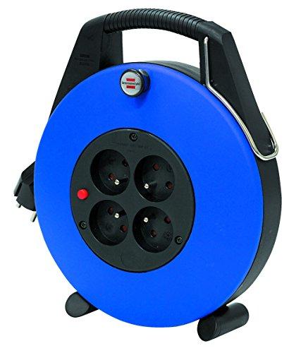 Brennenstuhl confort-line cl-x ENROULEUR ÉLECTRIQUE 10m H05VV-F 3G1,0, blau, 1102731