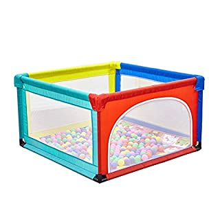 Zfggd Baby Playpen Toddler Bed Safety Fence Indoor Kids Playard