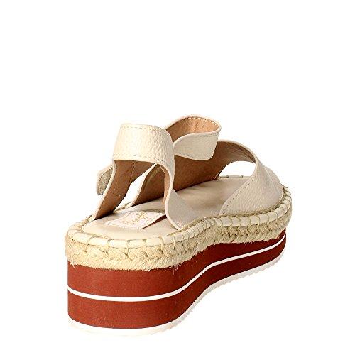 Wrangler WL161610 Sandalo Donna Bianco