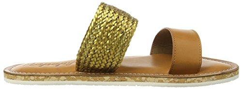 Napapijri Trine, Sandales ouvertes à talon compensé femme Marron - Braun (bronze N32)