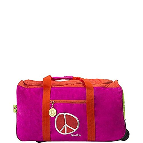 BigLove Kids 'First Love Rolling Duffle Bag ist ideal für jede Art von Reise mit Reißverschluss großes Fach, Mehrfarbig, One Size (Duffle Rolling)