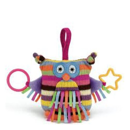 Image of Little Jellycat - Hoot Owl - Baby Activity Toy