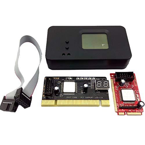 Debug-karte (Ben-gi 4PCS / Set 4-In-1 PCI/Mini PCI/Mini-PCI-E/LPC Desktop-Laptop LCD-Analyzer Debug-Test Post-Karte)