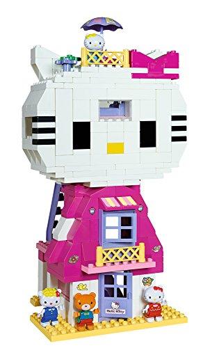 katzeninfo24.de BIG Spielwarenfabrik BIG 57048 – PlayBIG Bloxx Hello Kitty Katzenhaus