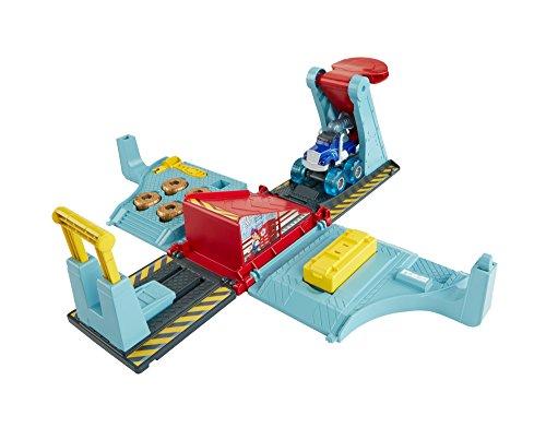Blaze fhv41 - officina mega salti - kit pista macchinina monster truck giocattolo 3+ anni