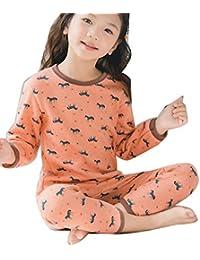 Runyue Set de Ropa Térmica para Niño Conjunto Térmico Camiseta + Pantalones Térmicos ...