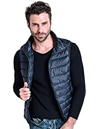 Homme Essentiel Quilted Automne Up Sans Manches Stand Col Gilet Emmay Compressible Doudoune ZwUBqH5