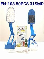 24 Energy Solar foldable Rechargeable Desk Light (Blue)