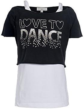 Brody & Co, kurzes Mädchen-T-Shirts