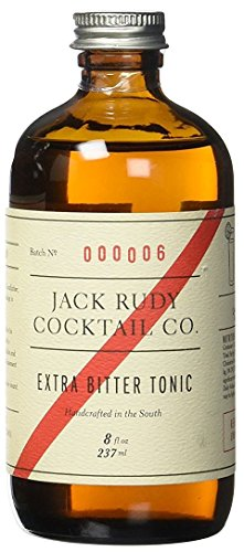 Jack Rudy Extra Bitter Tonic Sirup - (237ml für 10-12 Gin and Tonic)