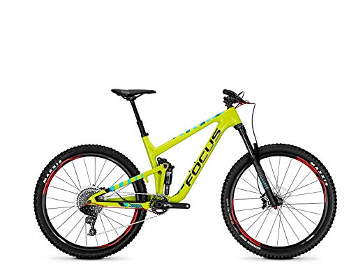 FOCUS JAM C Lite 27 Trail Fully Mountainbike Fahrrad Limegreen 2018 RH 47 cm / 27 Zoll