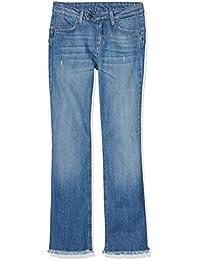 Liu Jo Damen Flared Jeans Bottom Up Microflaire