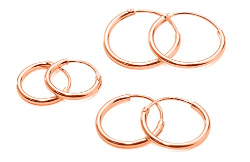 3-paar-ohrringe-mit-rosegold-vergoldet-sterlingsilber-scharnier-8-10-und-12-mm